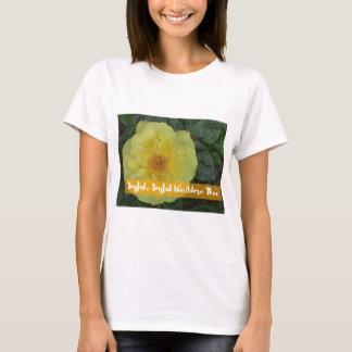 Camiseta Alegres, alegre, adoramos Thee - flor botánica