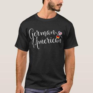 Camiseta alemana de los corazones de Entwinted del