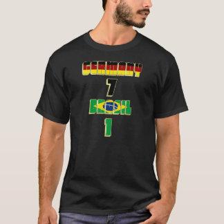 Camiseta Alemania 7 el Brasil 1 fútbol Fussball de
