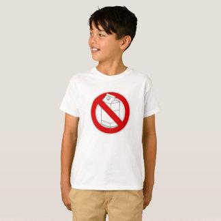 Camiseta Alergia de la lechería y intolerancia a la lactosa