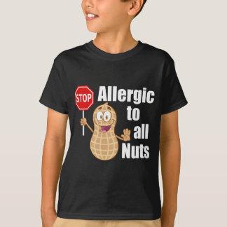 Camiseta Alergia de la nuez