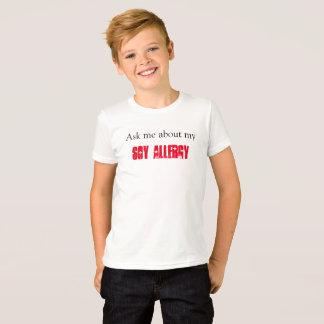 Camiseta Alergia de la soja