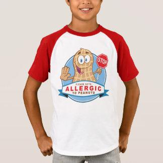 Camiseta Alérgico a los cacahuetes