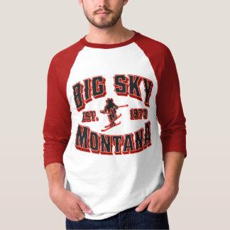 Camiseta Alerta roja grande 1973 del cielo