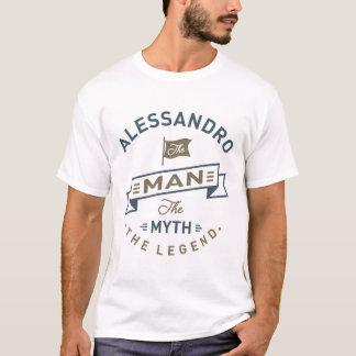 Camiseta Alessandro el hombre