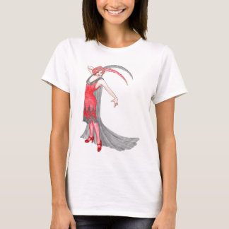 Camiseta Aleta del escarlata
