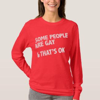 Camiseta Alguna gente es gay. Eso es aceptable