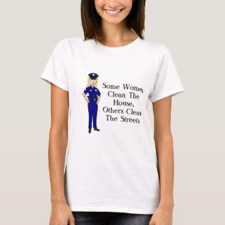 Camiseta Algunas mujeres limpian humor del oficial de