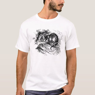 Camiseta Alicia en el gato de Cheshire del país de las