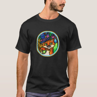 Camiseta Alicia en jugador de póker del gato de Cheshire