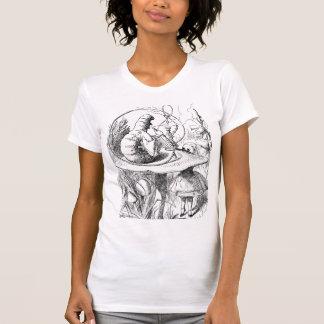 Camiseta Alicia en oruga del país de las maravillas-