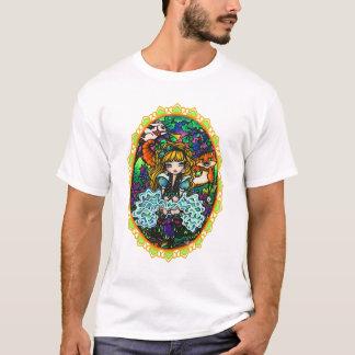 """Camiseta """"Alicia perdió"""" a Alicia en el gato de Cheshire"""