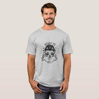 Camiseta Aliste para rodar el cráneo del motorista