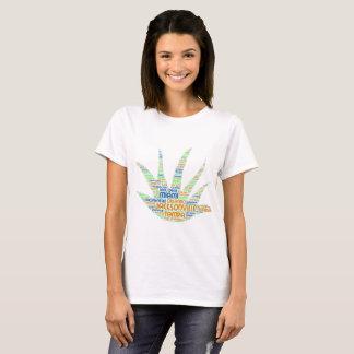 Camiseta Alove Vera ilustrada con las ciudades de la