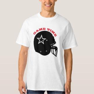 Camiseta alta de Hanes de los hombres del fútbol