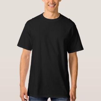 Camiseta alta de Hanes de los hombres, negra