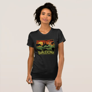 Camiseta alternativa de la ropa de las mujeres de