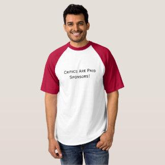 Camiseta alternativa del béisbol
