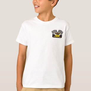 6e4a43ec1 Camisetas Revestimiento Manga Corta para niño   Zazzle.es