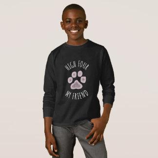 Camiseta Altos cuatro mi perro divertido del amigo