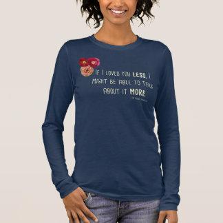 """Camiseta """"amada"""" LS de Emma Ladies'Floral"""