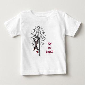 Camiseta amada tierra del jersey de la multa del