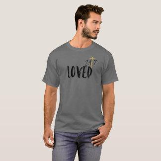 Camiseta Amado 24/7 fe cristiana