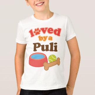 Camiseta Amado por un Puli (raza del perro)