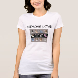 Camiseta Amante de Frenchie