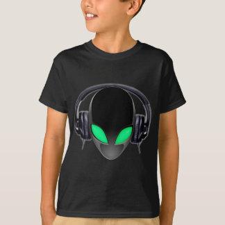 Camiseta Amante de la música extranjero DJ - cetáceo liso