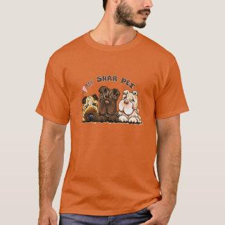 Camiseta Amante de Shar Pei del chino