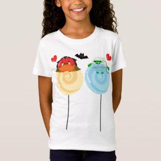 Camiseta Amantes adaptables del caramelo de Halloween - de