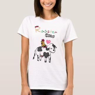 Camiseta Amantes chinos RoosterxOx del zodiaco