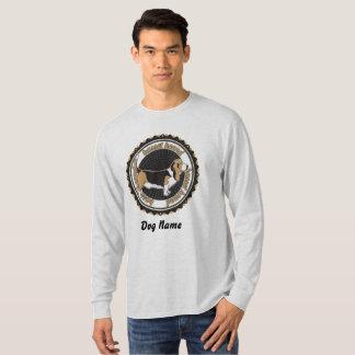 Camiseta Amantes personalizados del perro de Basset Hound