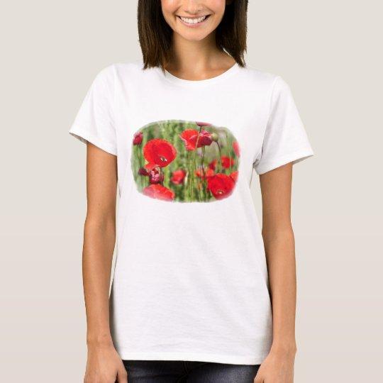 Camiseta Amapolas