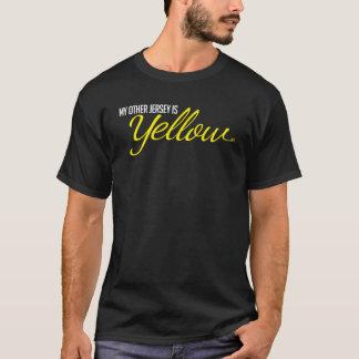 Camiseta amarilla del jersey