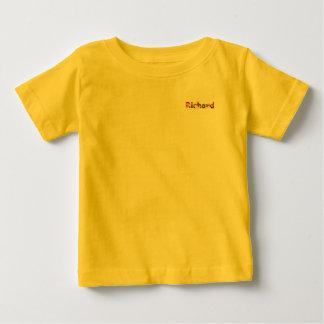 Camiseta amarilla del jersey de la multa del bebé