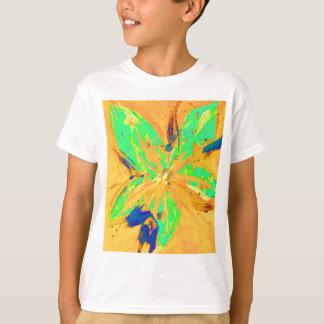 Camiseta Amarillo ácido del lavado de Santa Fe