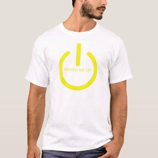 Camiseta Amarillos de neón me accionan para arriba en del