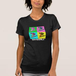 Camiseta ambarina del negro del ala