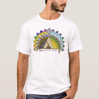 Camiseta Ambiente hacia fuera con mi de la tribu arco iris