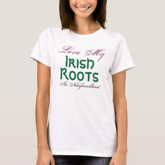 Camiseta Ame mi, irlandeses, raíces, en Terranova