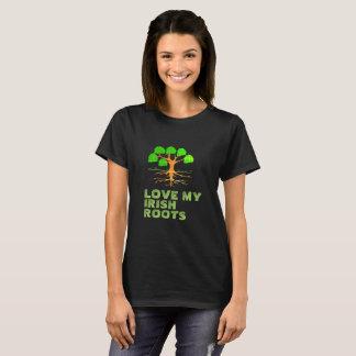 Camiseta Ame mis raíces irlandesas -