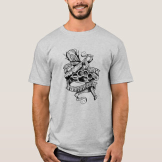 Camiseta Ame Thy vecino (el diseño del tatuaje)