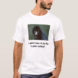 Camiseta Amenaza del mono de araña