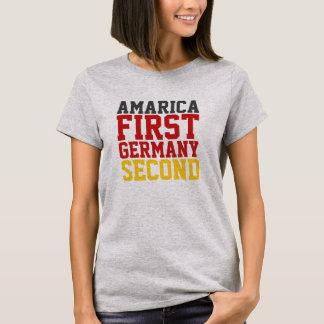 Camiseta América primera Alemania segunda