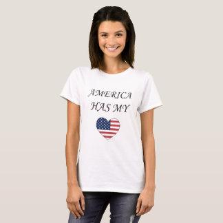 Camiseta América tiene mi corazón