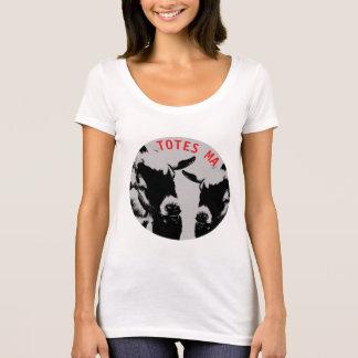 Camiseta American Apparel de las mujeres de los TOTES