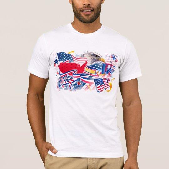 CAMISETA AMERICAN EAGLE USA