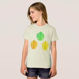 Camiseta americana de la ropa de los chicas con